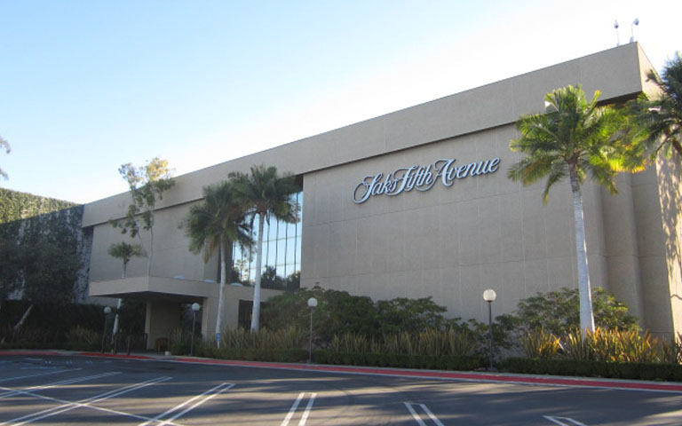 Saks Fifth Avenue - South Coast Plaza - Costa Mesa, CA