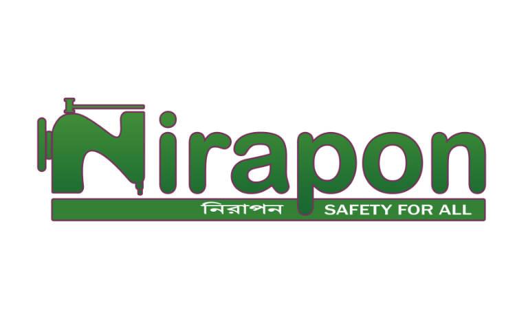 Nirapon Logo - Safety for all