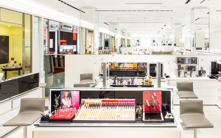 New Beauty Floor In New York Saks Fifth Avenue Flagship
